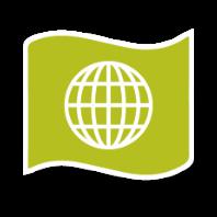 Immigrant rights icon