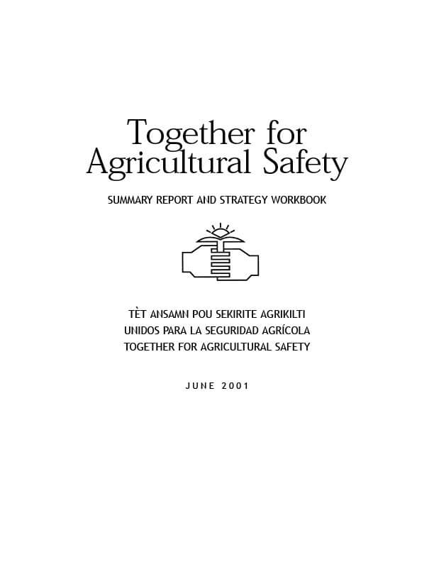 Together for Agricultural Safety cover